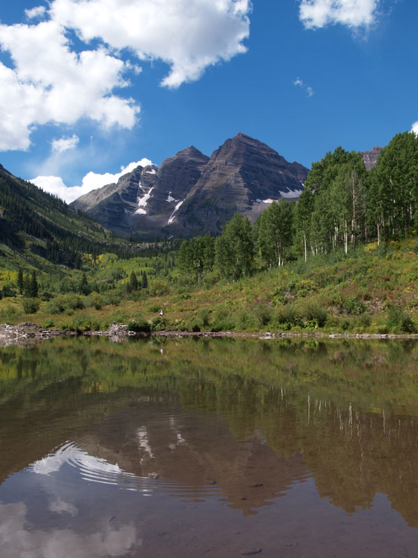 maroon bells lake at - photo #37